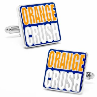 "Broncos ""Orange Crush"" Cufflinks"