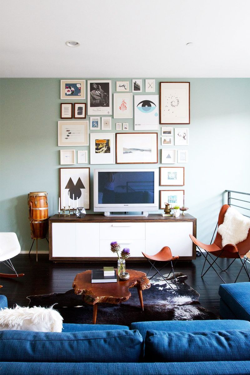 7 Simple Tips to Make Your Living Room Look Luxe | Living rooms, Tv ...