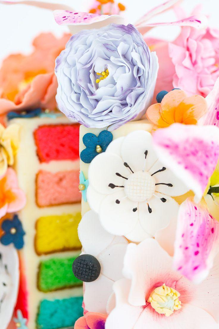Because why not diy sugar flower cake sugar flowers