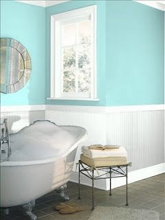 Benjamin Moore in Jamaican Aqua. Love this color - very ...