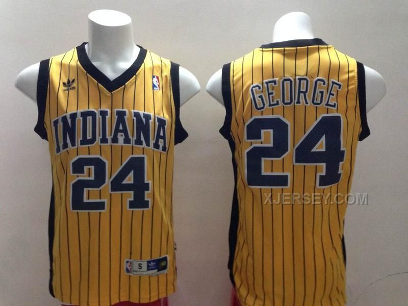 buy pacers 24 paul george yellow strip revolution 30 swingman jerseys from reliable pacers 24 paul g