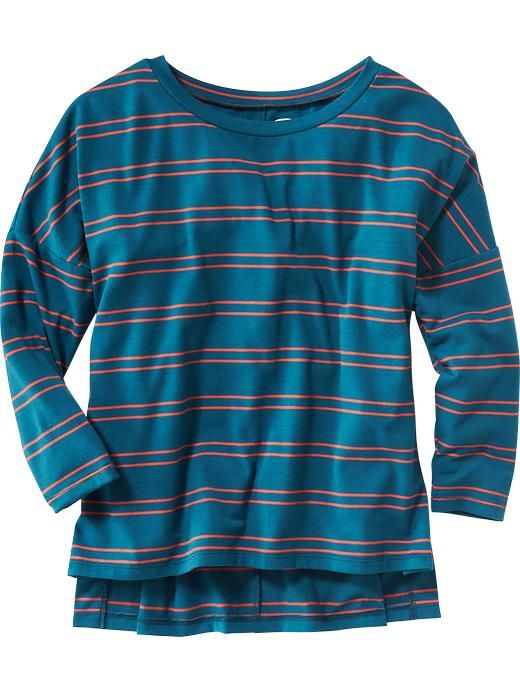 Soft Relaxed LS Tee for Girls