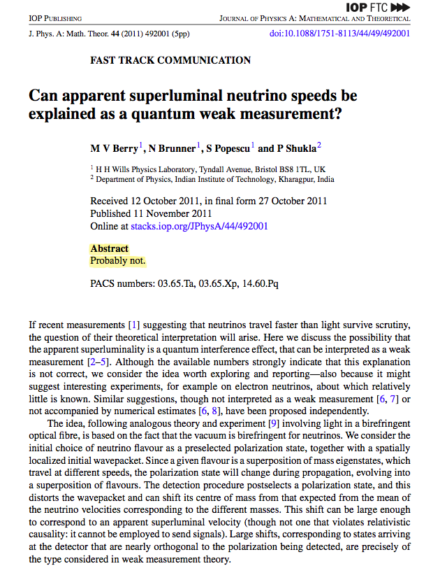 This May Be The Best Scientific Paper Abstract Ever