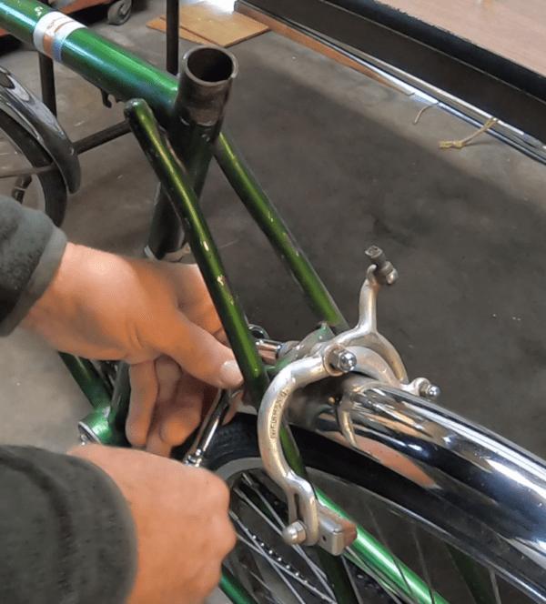 Bike Repair Disassembling The Schwinn Racer With Images Bike