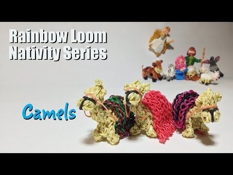 ▶ Rainbow Loom Nativity Series: Camels - YouTube