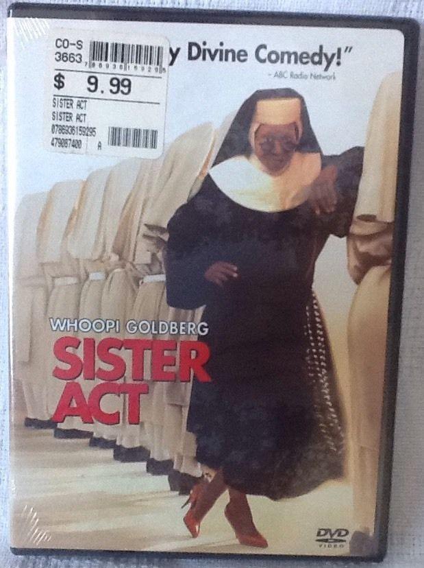 Sister Act DVD New Comedy Emile Ardolino PG Whoopi Goldberg