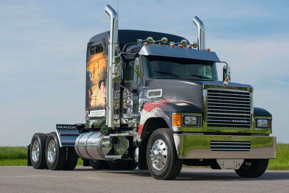 Mack Trucks Customizes Ride For Freedom Truck To Salute Fallen Military Heroes Mack Trucks Trucks New Trucks
