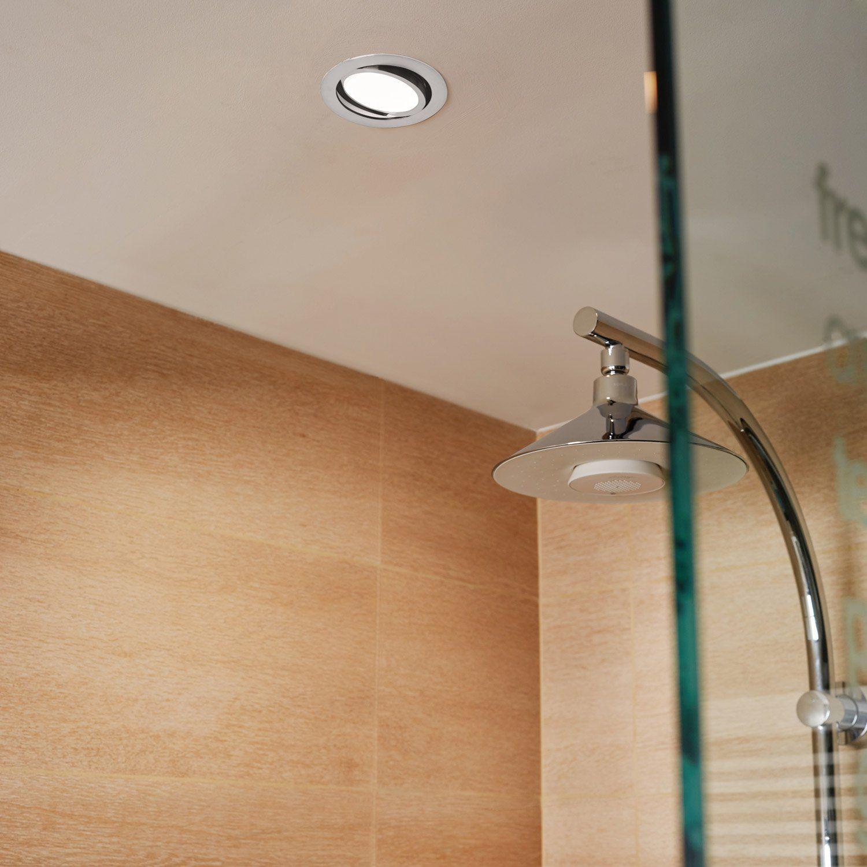 Kit 1 spot encastrer salle de bains Lindi orientable INSPIRE ...