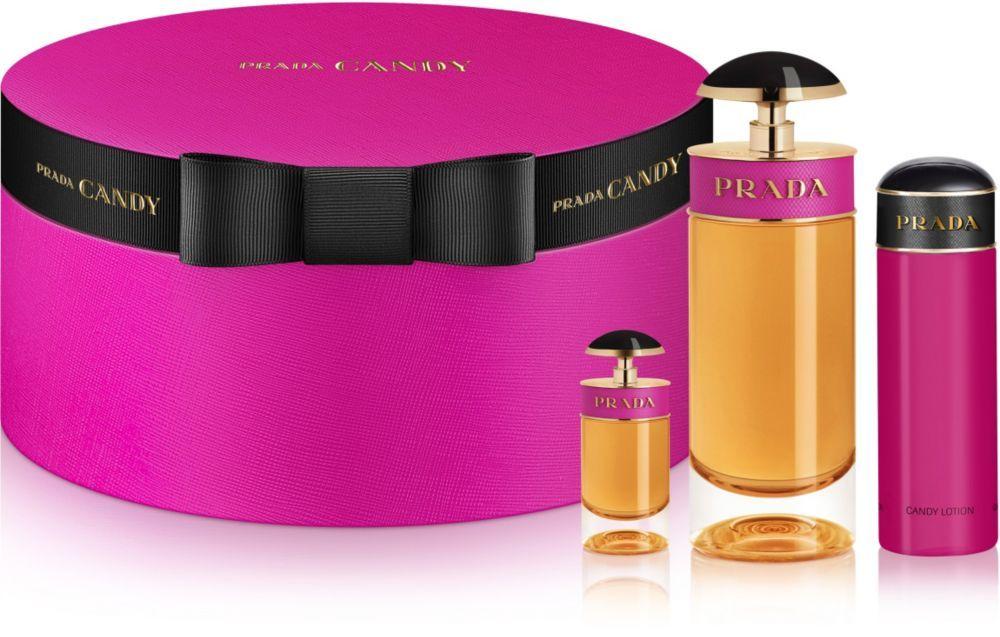 Candy Eau de Parfum Gift Set by Prada includes an Eau de