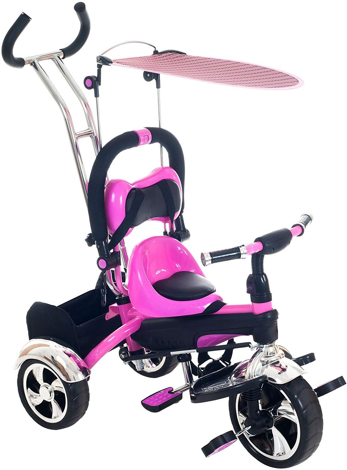 Tricycle Stroller Bike, 31 Stroller with Removable Canopy