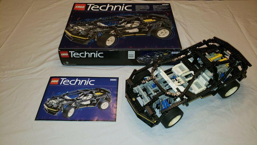 Lego Technic Super Car 8880 100 Complete Original Box Instructions 2 In 1 Lego Technic Super Cars Best Lego Sets