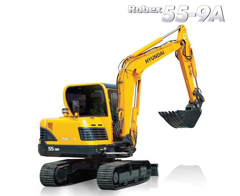 Hyundai R55 9a Crawler Excavator Operators Manual Pdf Download Repair Manuals Hyundai Excavator
