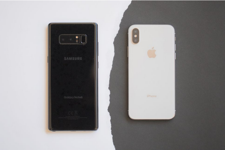 50 صورة للمقارنة بين أداء كاميرا جوال آيفون X وجالكسي نوت 8 Iphone Galaxy Note 8 Galaxy