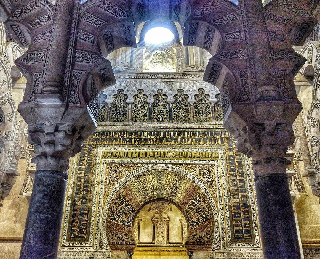 Stripes of light in Mosque-Cathedral of Córdoba  #architecture #spain #cordoba #mosque