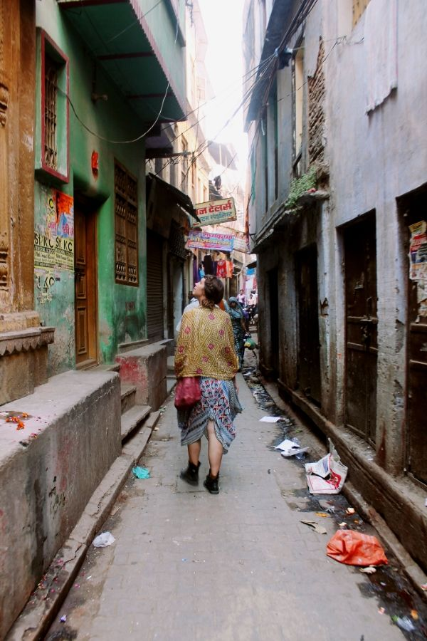Narrow Streets of Varanasi