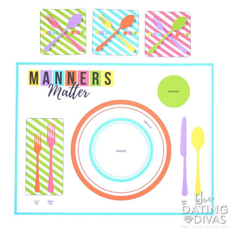 Manners dating table Tips on