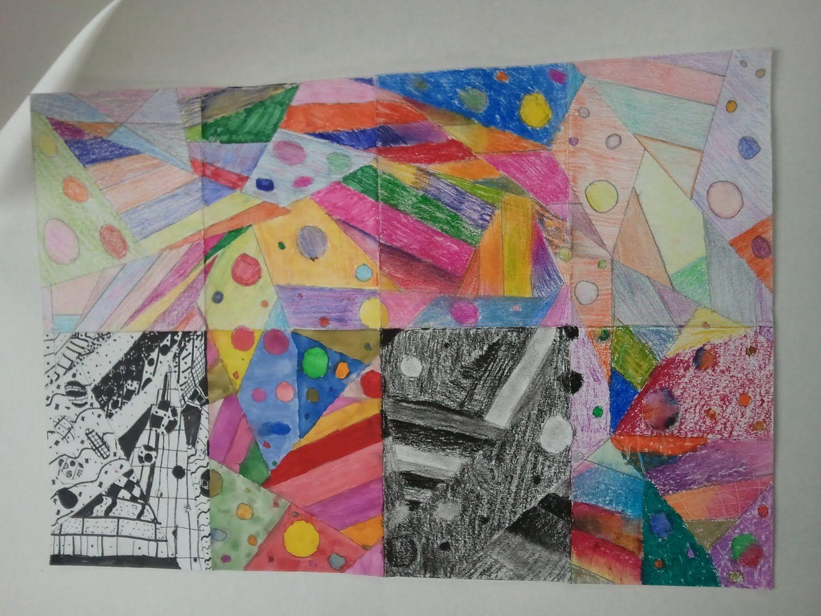 8 Art Elements : Medium project good for elements or principles of art kid