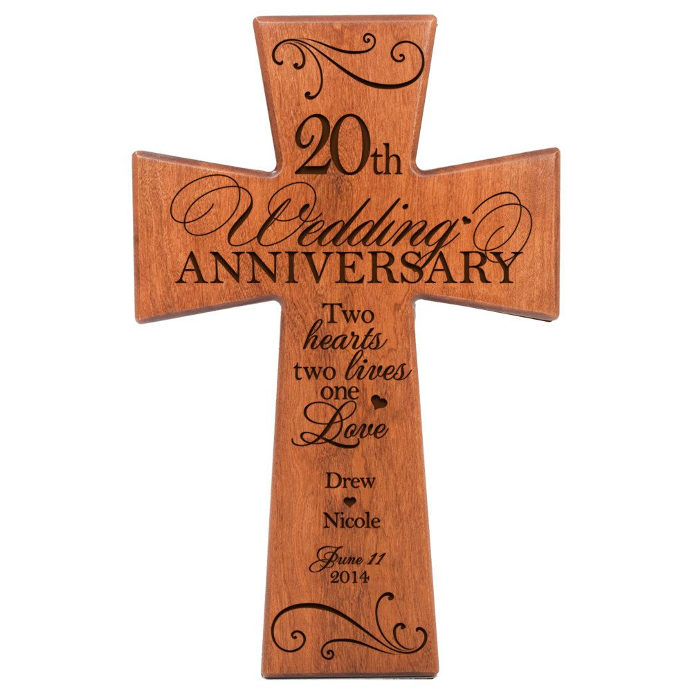 20th Wedding Anniversary Gift Ideas For Him: Personalized 20th Wedding Anniversary, 20th Anniversary