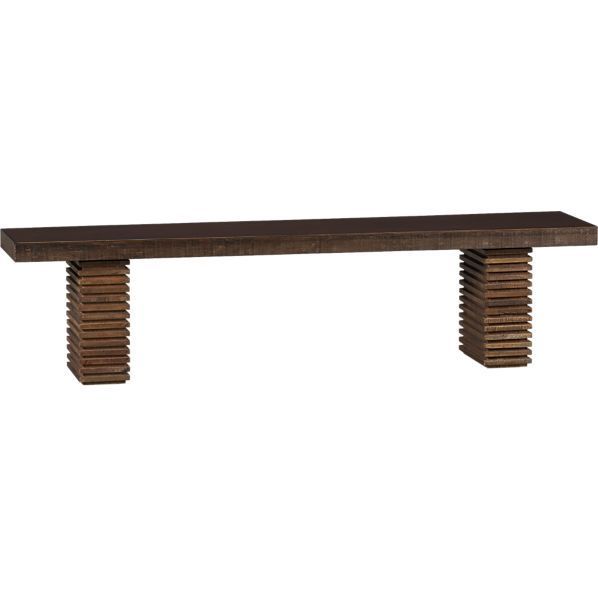 Paloma 72 Bench In Dining Benches Crate And Barrel Dining