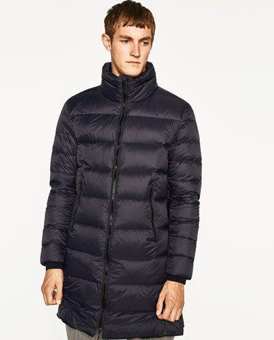 seleccione para auténtico vendido en todo el mundo precio de calle Imagen 2 de ABRIGO PLUMAS LARGO de Zara | moda hombre en ...