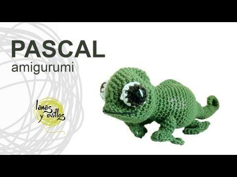 Camaleón Enredados Pascal   Lanas y Ovillos   Animales   Pinterest ...