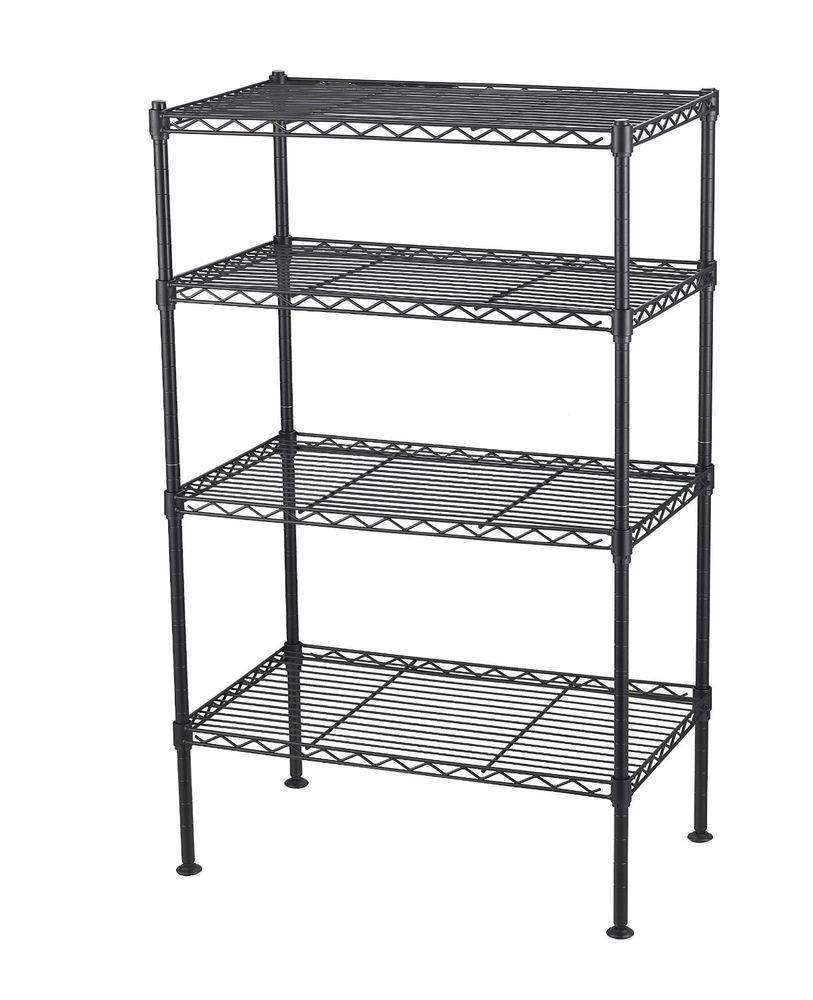 Wire Storage Shelf Shelving Metal Rack Shelves Organizer Kitchen