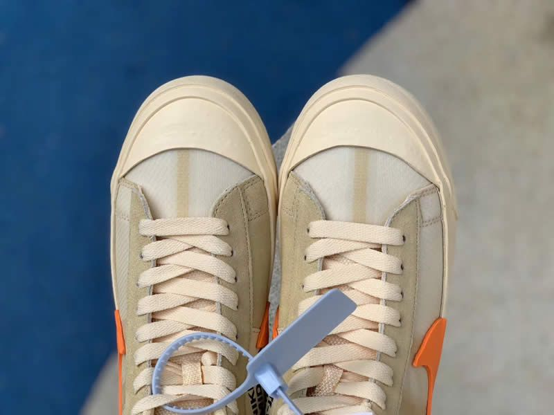 73d7a08586f7c8 nike blazer mid off white all hallows eve orange aa3832 700 detail picture  - www.