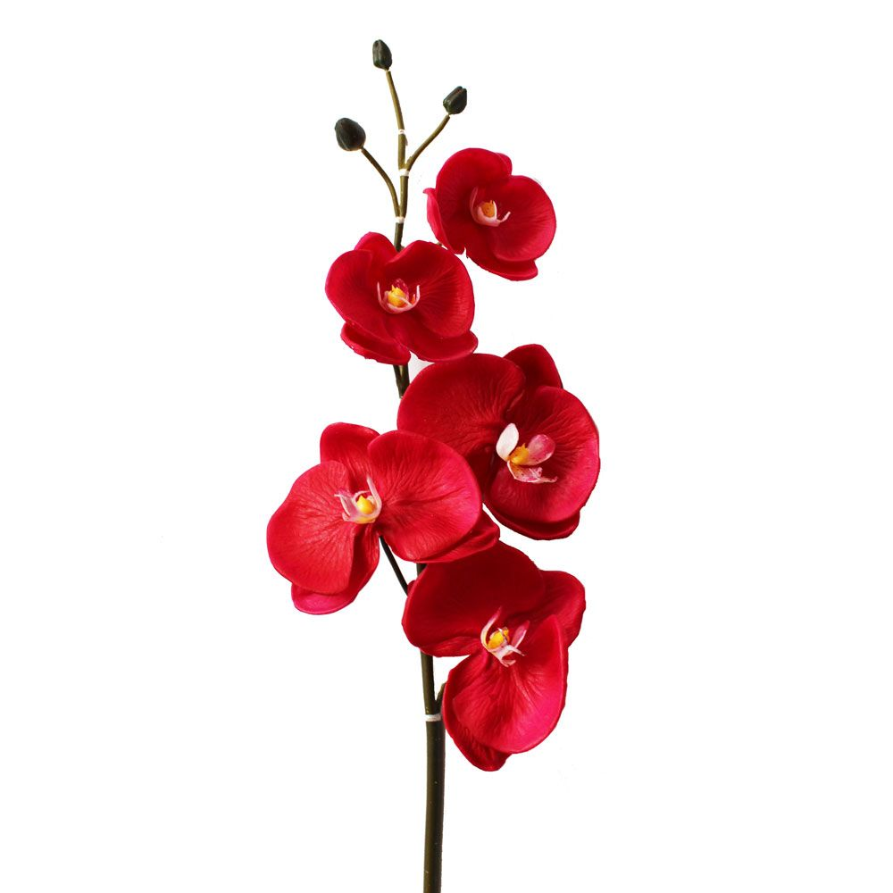 Real Touch Phalaenopsis Orchid Spray in Red Fuchsia39