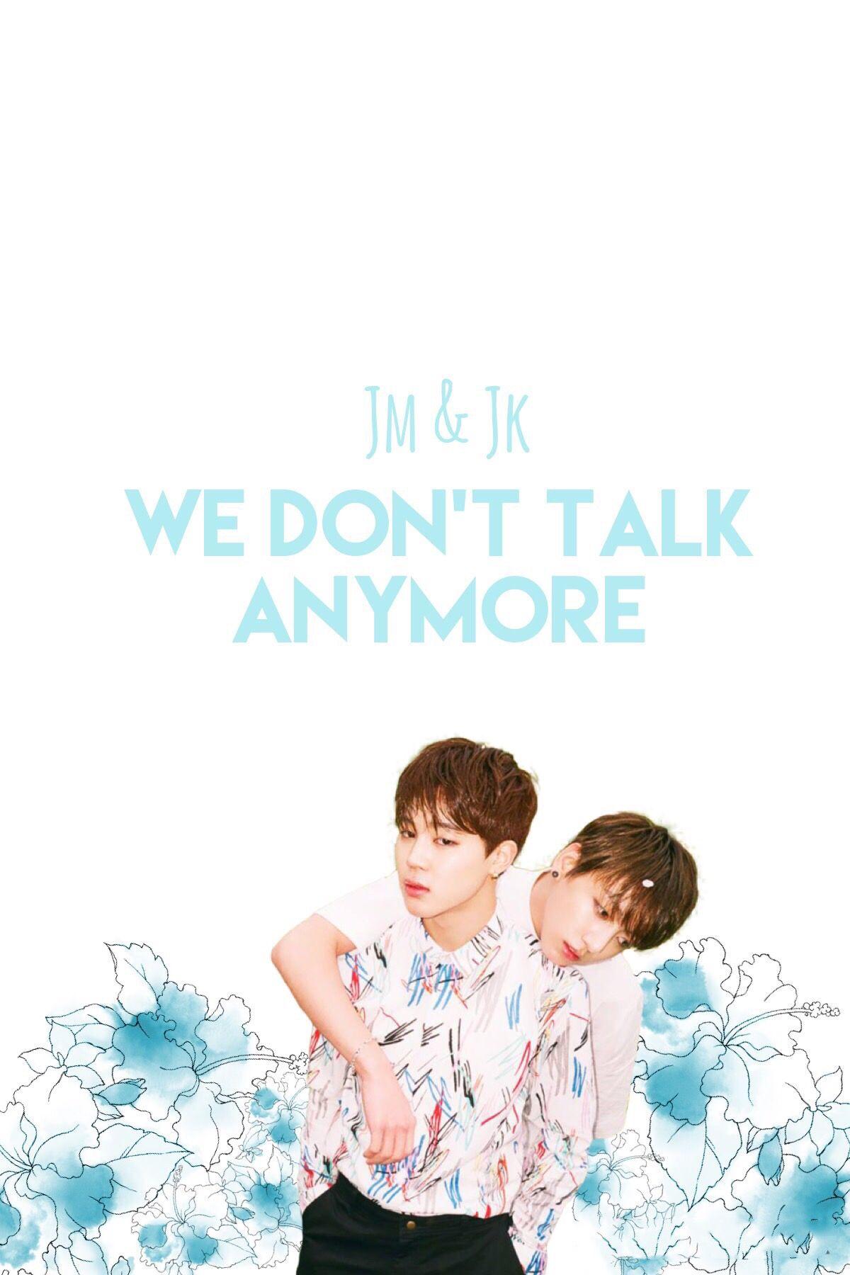 Bts Wallpaper We Don T Talk Anymore Jimin Jungkook Cover We
