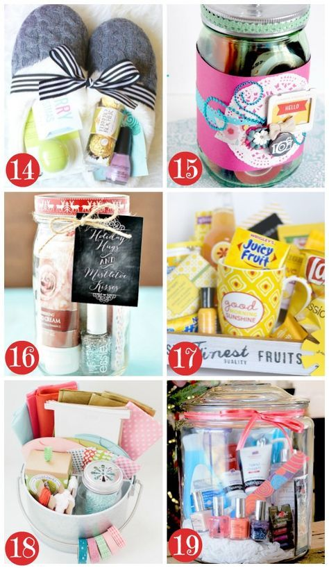 Gifts baskets for christmas ideas
