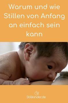 Warum und wie das Stillen von Anfang an einfach sein kann   – Baby