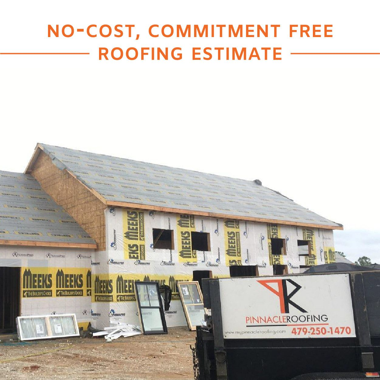 Not Quite Ready For A Commitment That S Okay Let The Pinnacle Roofing Team Provide You With A No Cost Commitmen Roofing Estimate Roofing Roofing Contractors