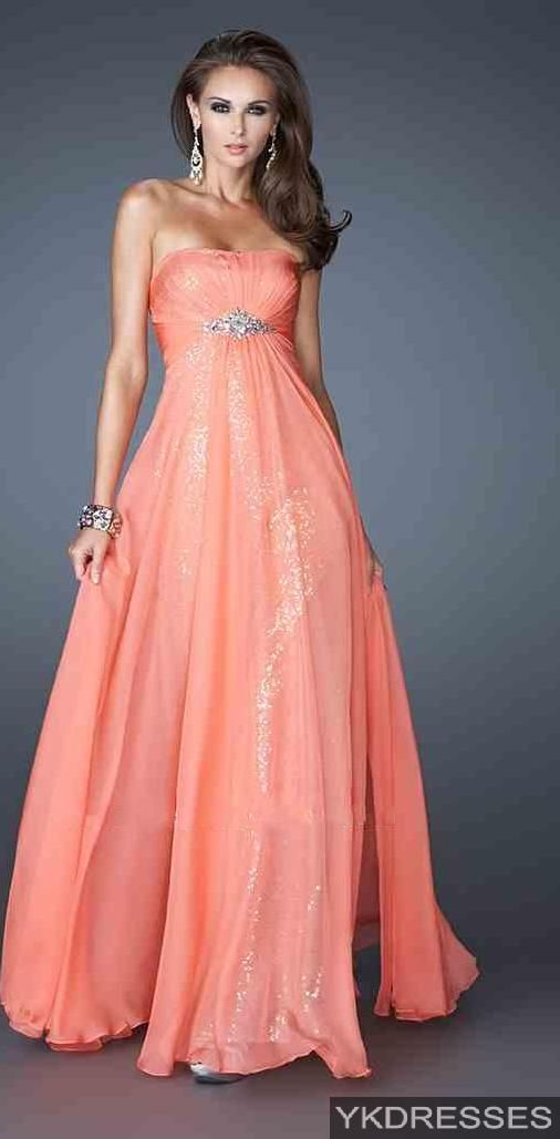 prom dress prom dresses | Prom shoes | Pinterest | Naranja ...