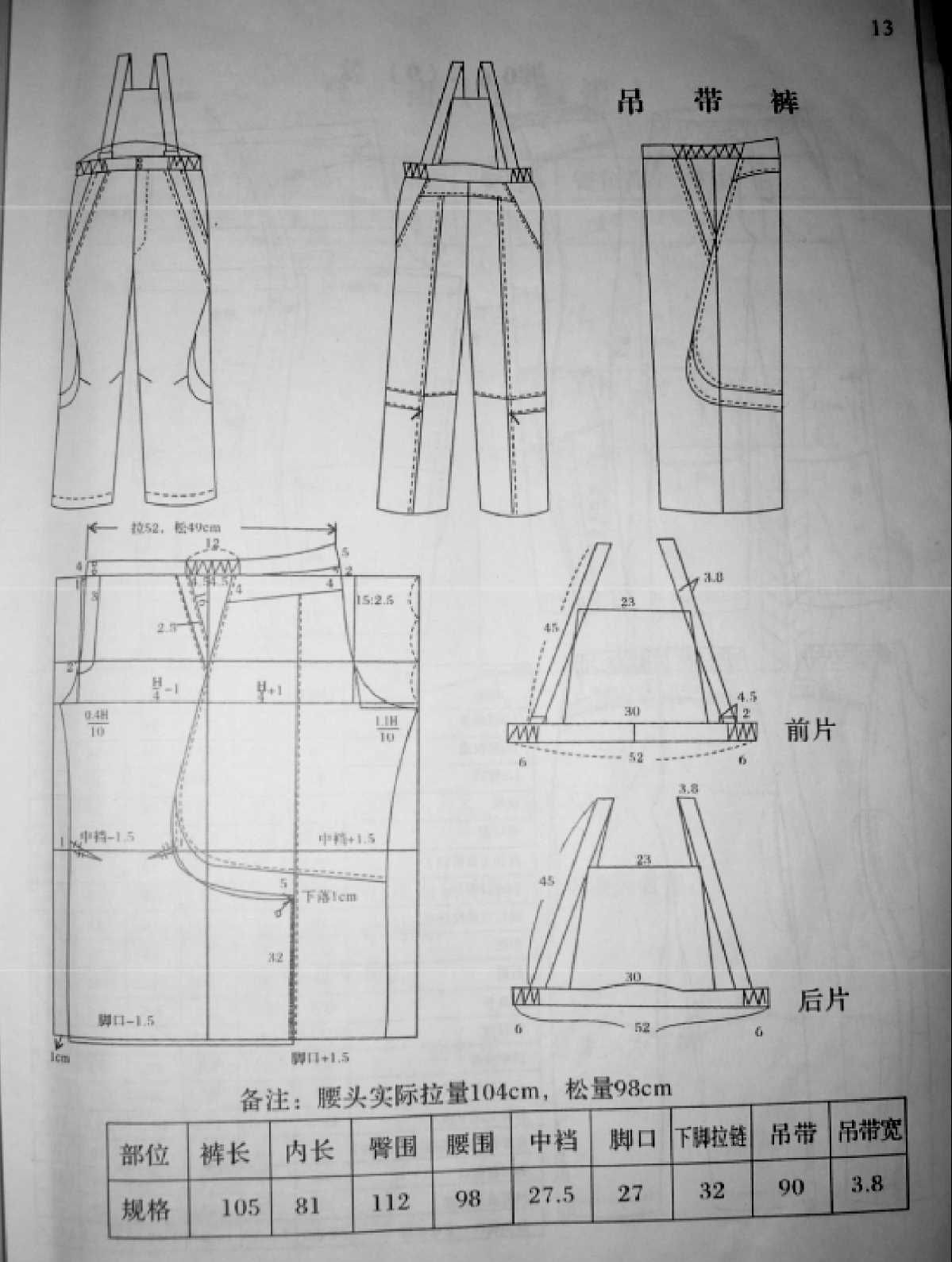 Pin by johanna zhang on pola pinterest sewing techniques pattern trousers pattern making paper patterns sewing techniques sew patrones sewing couture sewing techniques paper models jeuxipadfo Image collections