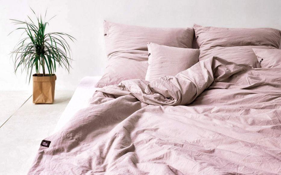 Altrosa Farbige Baumwoll Bettwasche Pure Fur Ein Himmlisches Schlafklima Bett Ideen Grune Bettwasche Bettwasche