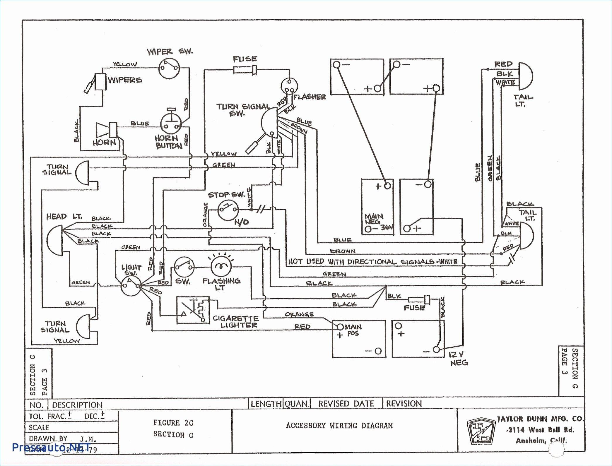 Ezgo 48 Volt Wiring Diagram In 2020