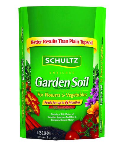 Schultz Garden Soil For Flowers Vegetables With Images