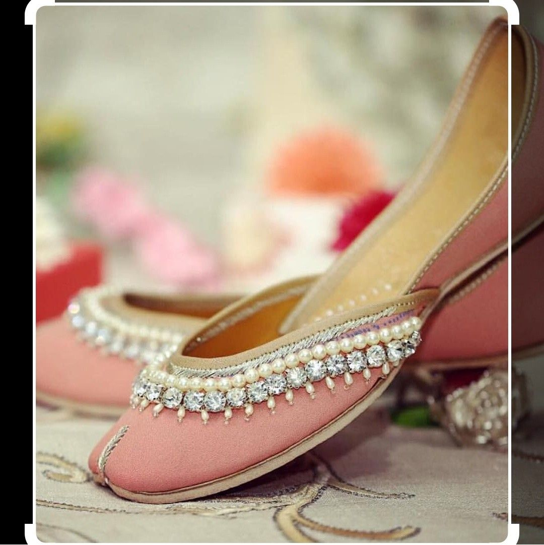 shoes, Indian shoes, Wedding shoes flats