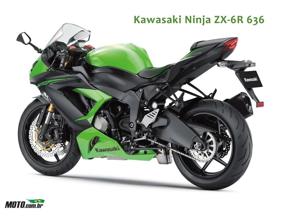 Nuovo Kawasaki Ninja 636 | Planes, Trains and Automobiles ...