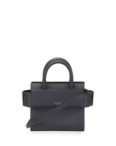 2f98436638 GIVENCHY HORIZON NANO GRAINED LEATHER SATCHEL BAG.  givenchy  bags   shoulder bags  hand bags  leather  satchel