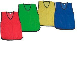 Cintz Set Of 10 Fluorescent Lemon Yellow Youth Pinnies And Scrimmage Vests By Cintz Llc 38 99 Set With Images Reflective Gear Coaching Youth Soccer Running Accessories