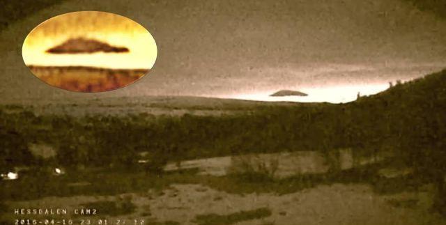 Large UFO hidden in cloud recorded above Hessdalen, Norway |UFO Sightings Hotspot