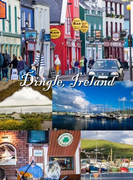 Visit Dingle for an authentic taste of Irish culture.