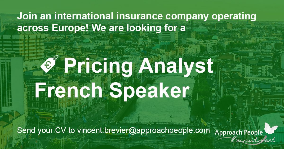 job alert for candidates who want to move #abroad! #Pricing Analyst