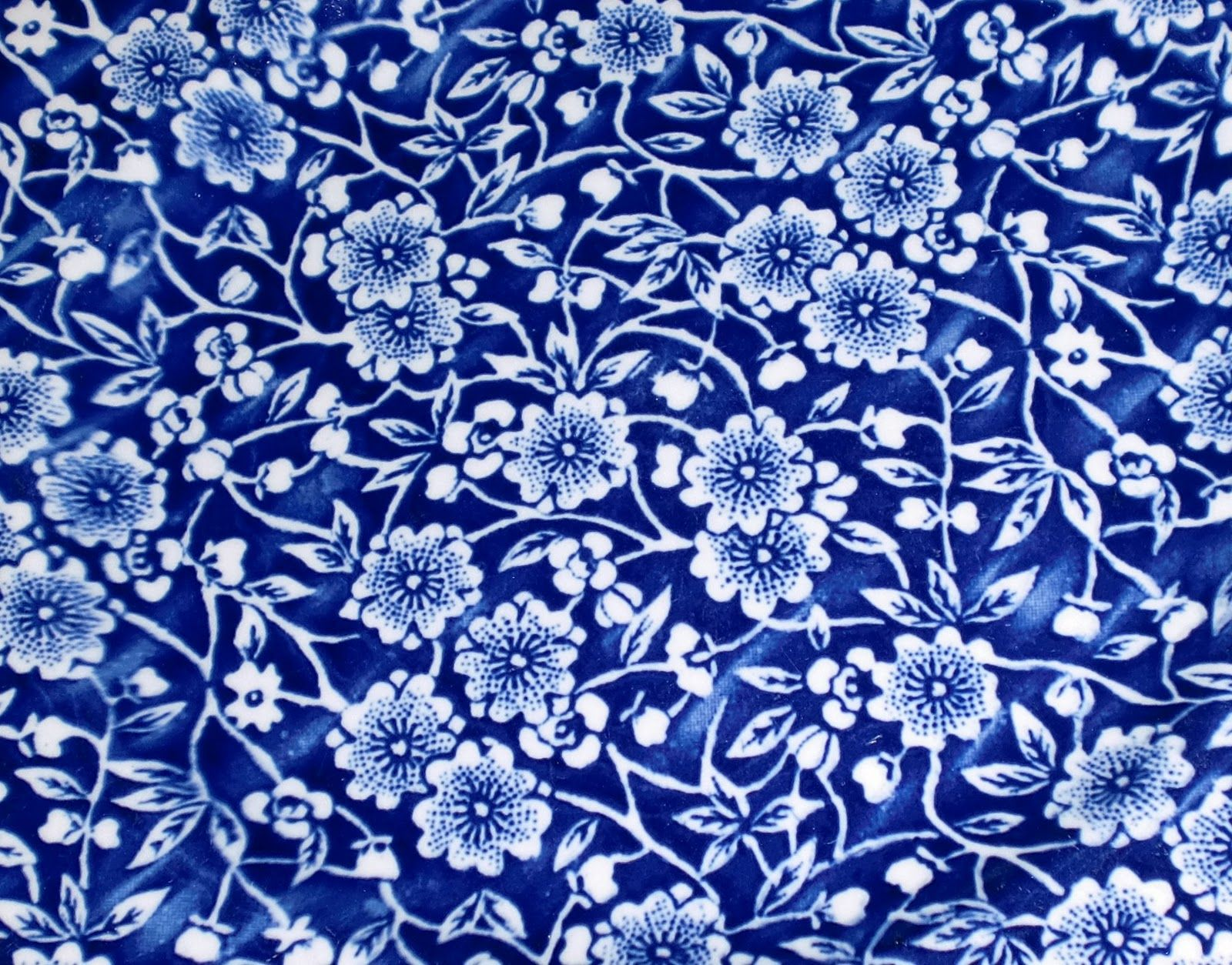 Burleigh Calico China Pattern Would Love This As