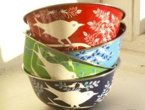 Eva bowls, handpainted bowls, kitchenware, fairtrade bowl | LittleTrove.com