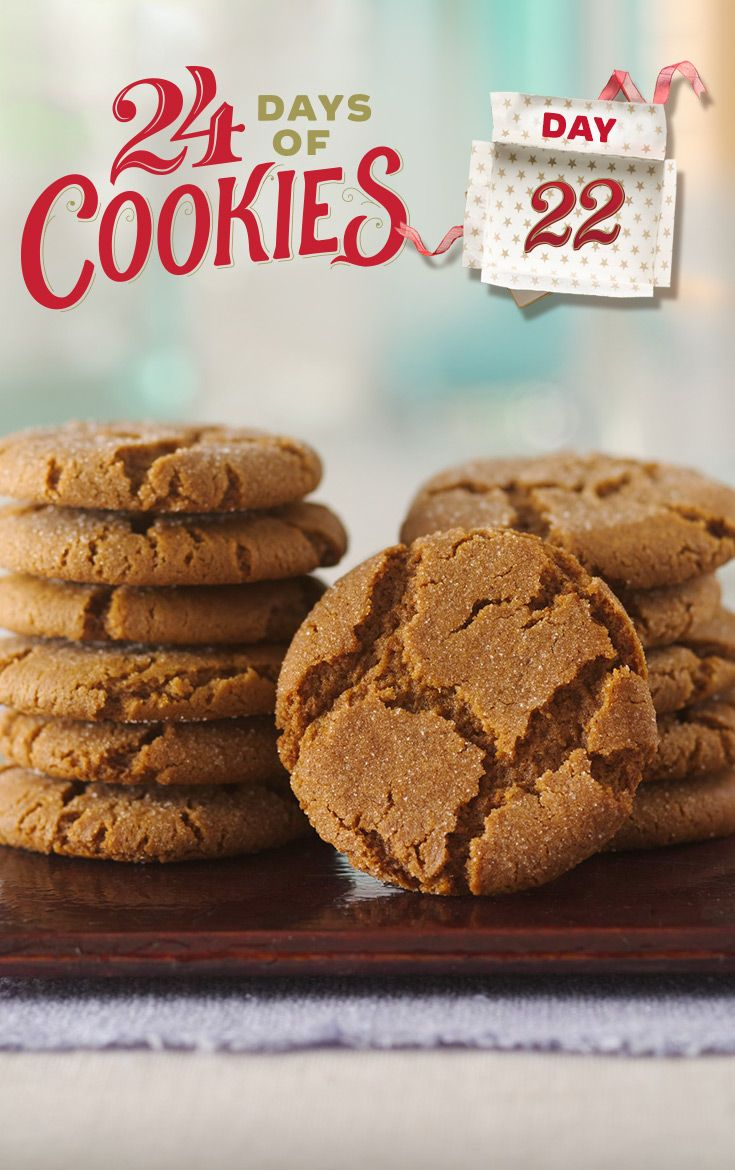 Gingersnaps Recipe Betty Crocker Cookies Holiday Cookie Exchange Holiday Cookies