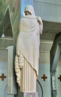 Les Béatitudes de Raymond. Delamarre à N.D. des Missions  .Épinay-sur-Seine .île-de-France