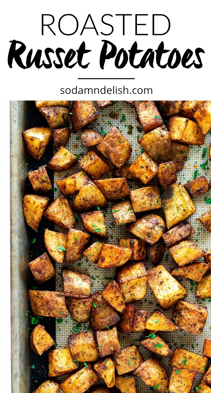 Roasted Russet Potatoes