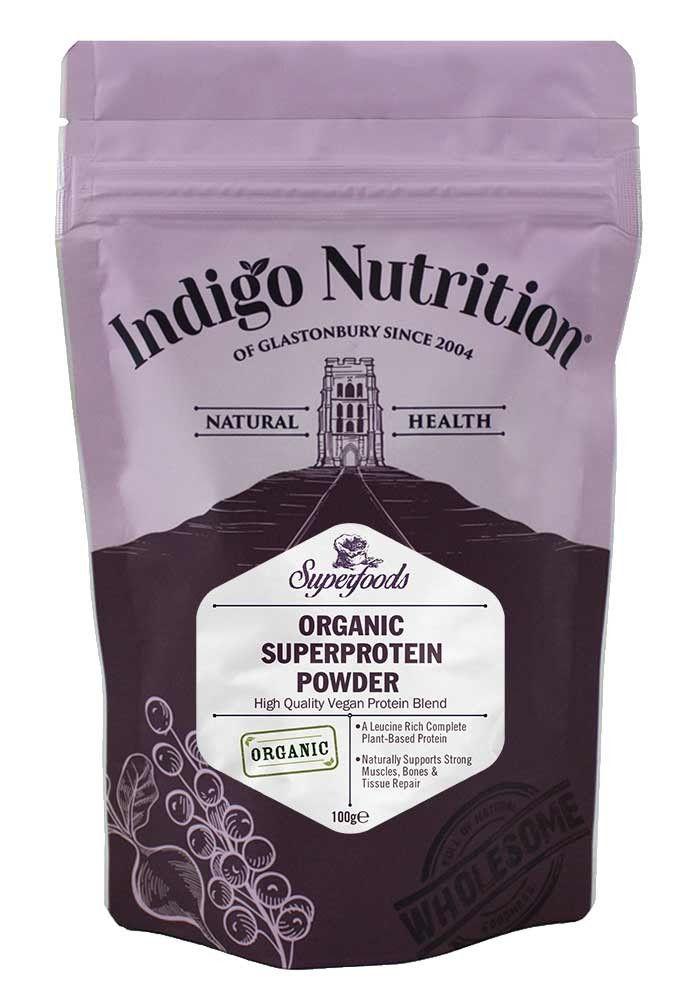SuperProtein Organic Vegan Protein Powder Blend 100g